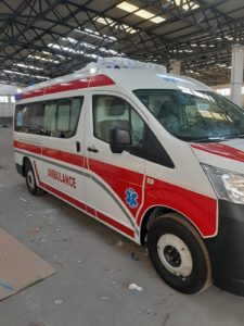 Ambulance bound for Gaza
