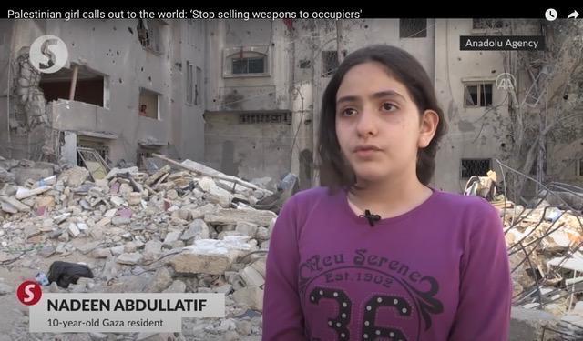 Nadeen in Gaza